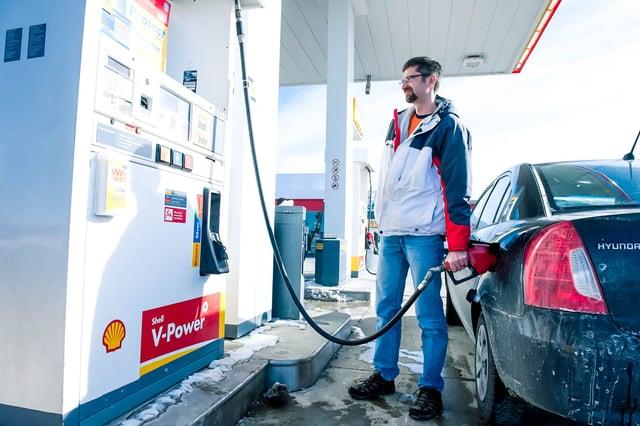 company-car-refueling