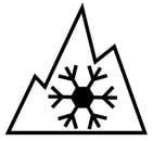 mountain-snowflake